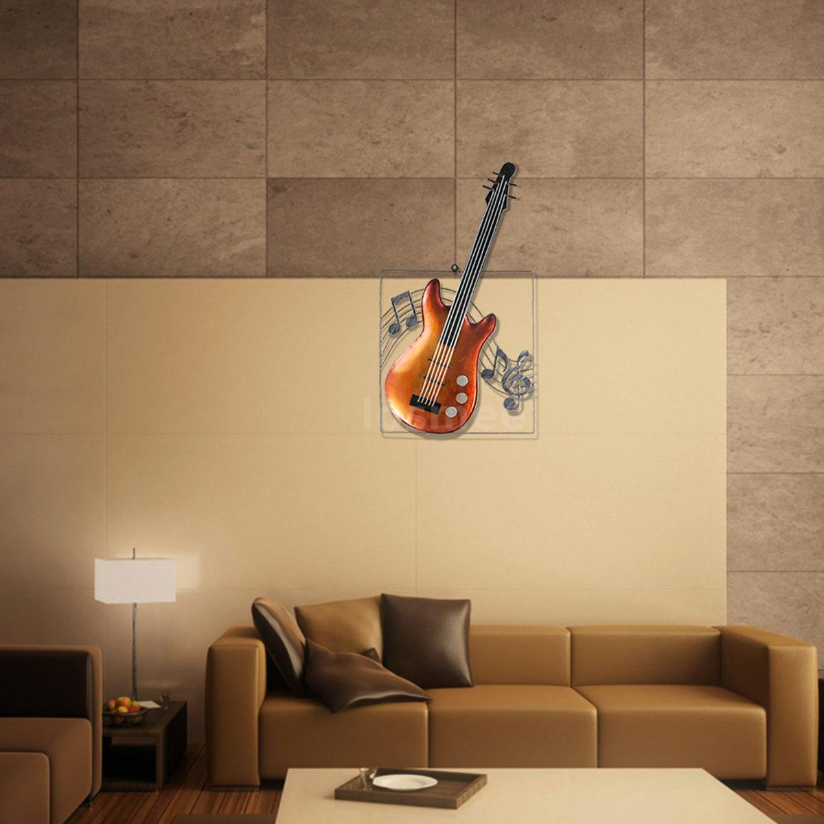 Tooarts Guitar Hanging Ornament Home Decor Wall Hangings Decor Music ...