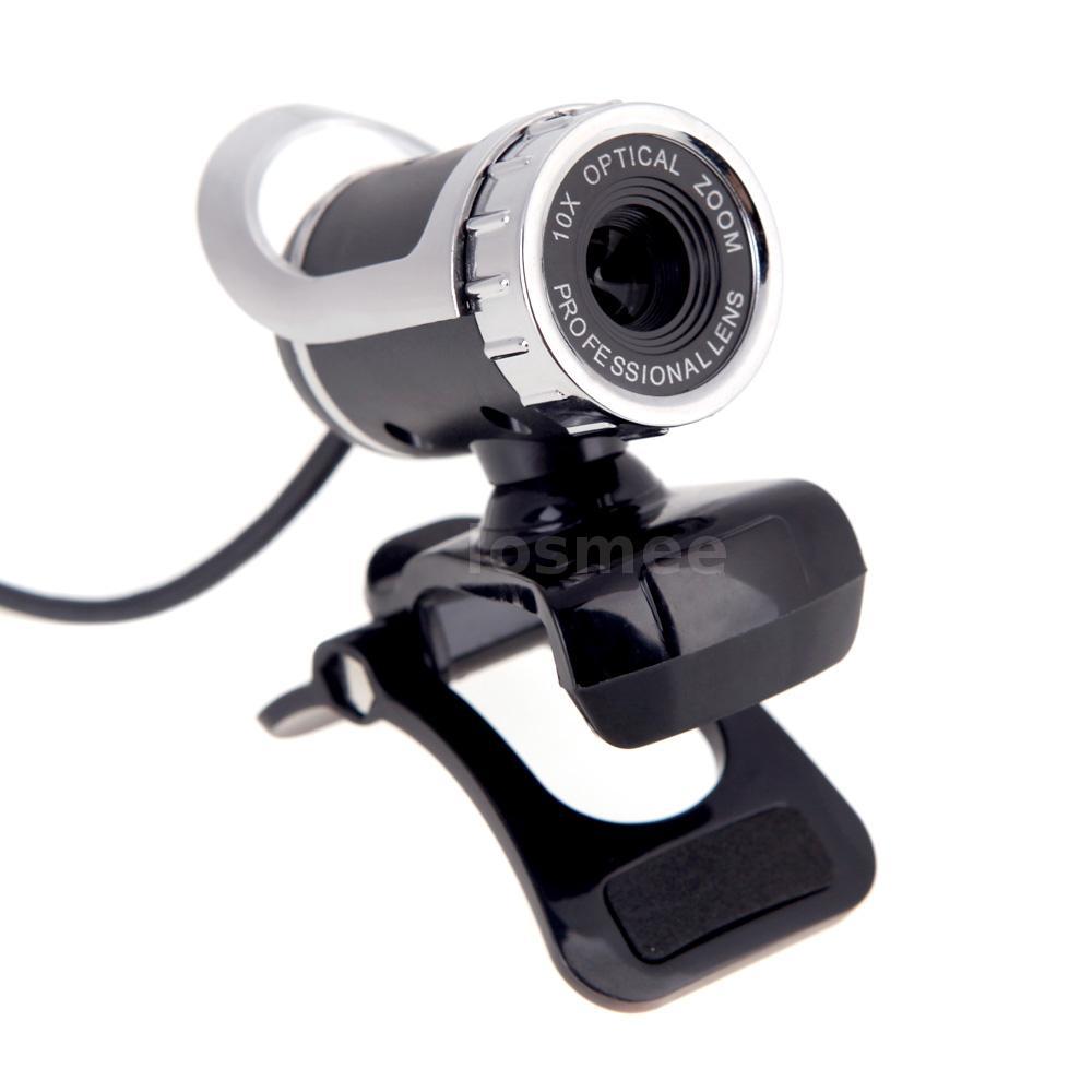 usb 2 0 50 megapixel hd camera web cam with inside mic clip on for pc computer ebay. Black Bedroom Furniture Sets. Home Design Ideas