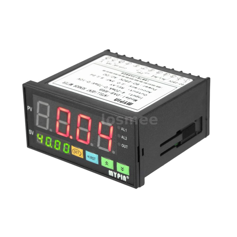 1 Meter Wire Current : Digital sensor meter relay alarm output current voltage