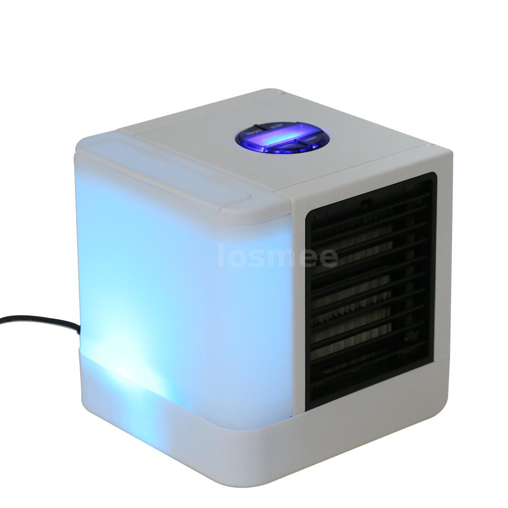 Portable Desk Air Conditioner Fan Mini Space Evaporative