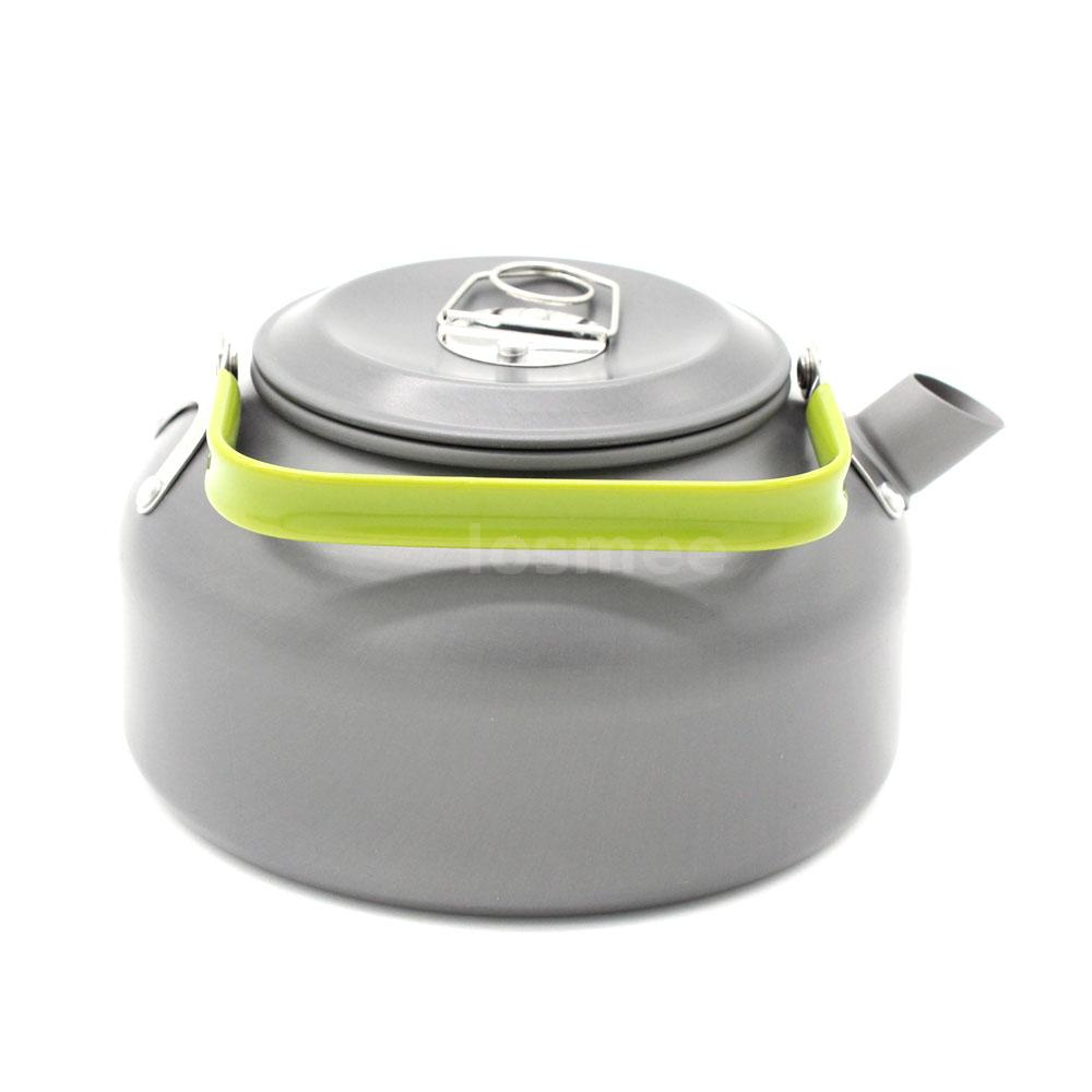 Cooking With A Kettle ~ Aluminum outdoor camping cooking survival pot water kettle