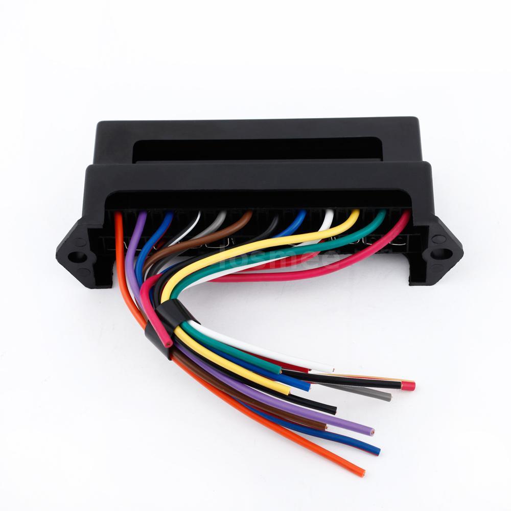 32v 12 way circuit car automotive blade fuse box block