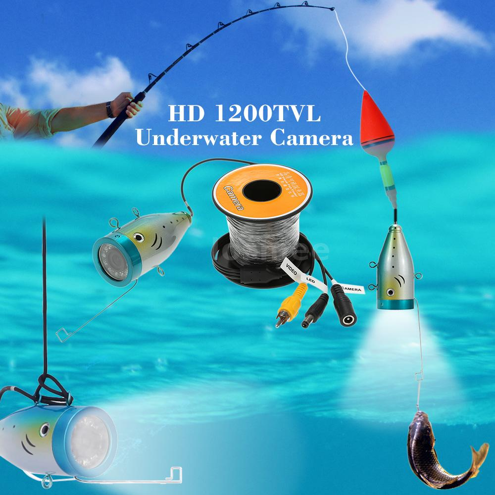 30m Professional Fish Finder Underwater Fishing 1200tvl