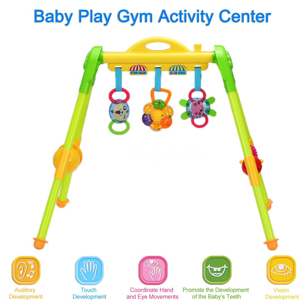 baby activity center gym learning exercise toy for 0 1. Black Bedroom Furniture Sets. Home Design Ideas