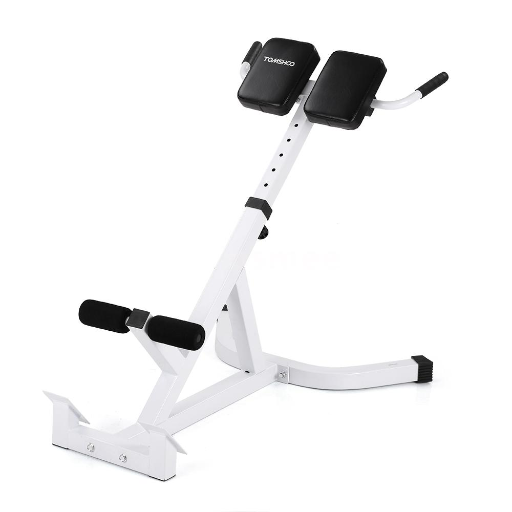 Tomshoo hyperextension roman chair back extension ab bench