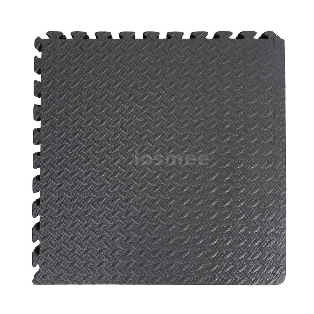 Pcs protective floor mat gym garage exercise house