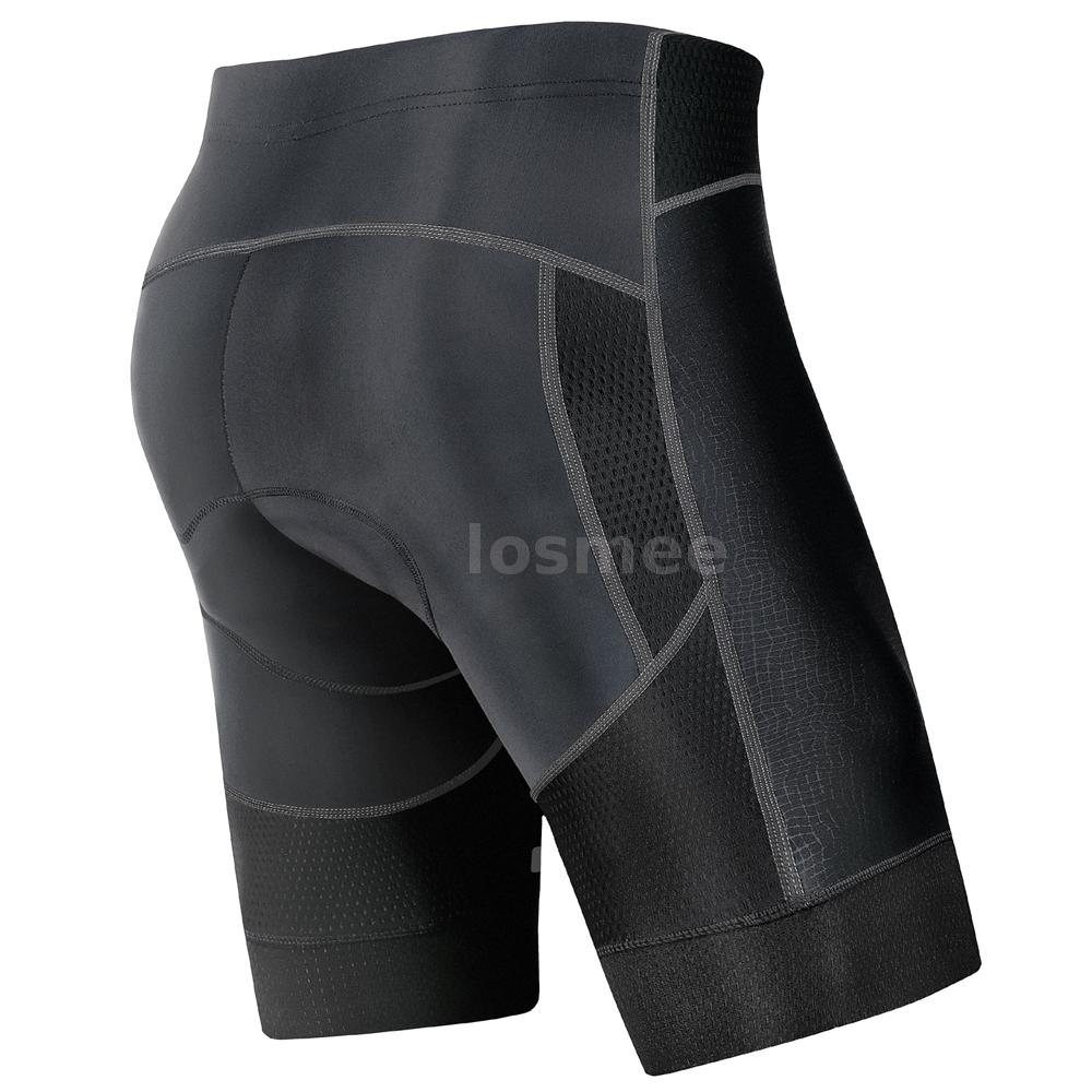 Men 4D Padded Cycling Shorts Breathable Quick Dry Bike Bicycle Compression Pants