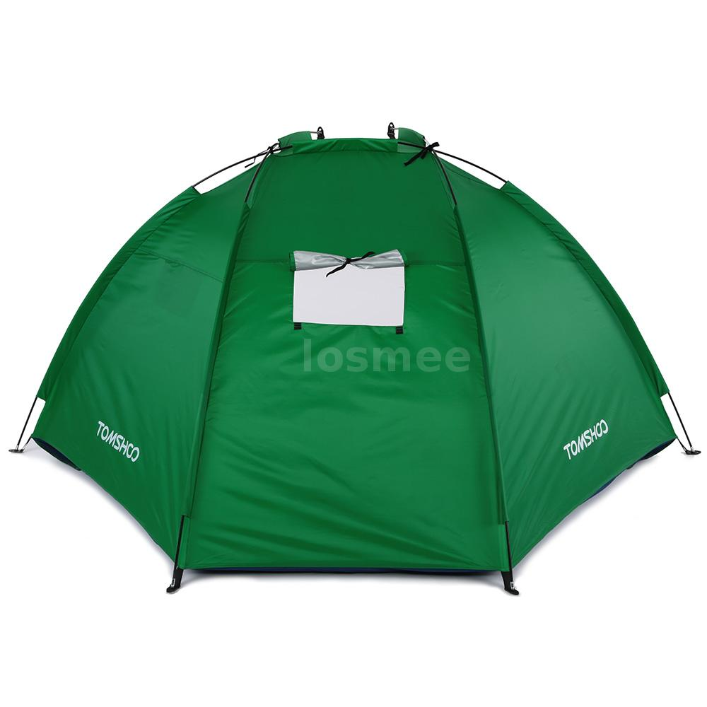pop up portable beach canopy sun shade shelter outdoor camping fishing tent e8d1 ebay. Black Bedroom Furniture Sets. Home Design Ideas